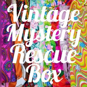 Vintage Clothing Myster Rescue Reseller Keep Box
